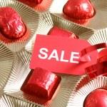 Sweet gift. Sale — Stock Photo