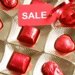 Stock Photo: Sweet gift. Sale