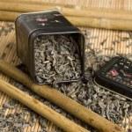Tea in a Box — Stock Photo