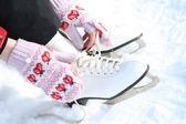 溜冰鞋 — 图库照片