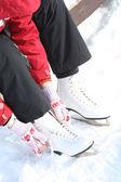 Preparation Skating — Stock Photo