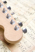 Telecaster Head — Stock Photo