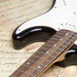 electric guitar — Stock Photo