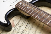 ηλεκτρική κιθάρα — Φωτογραφία Αρχείου