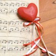 Stock Photo: Song of love