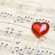 canzone d'amore — Foto Stock