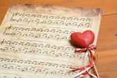 Song of love — Stock Photo