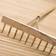 Wooden rake — Stock Photo