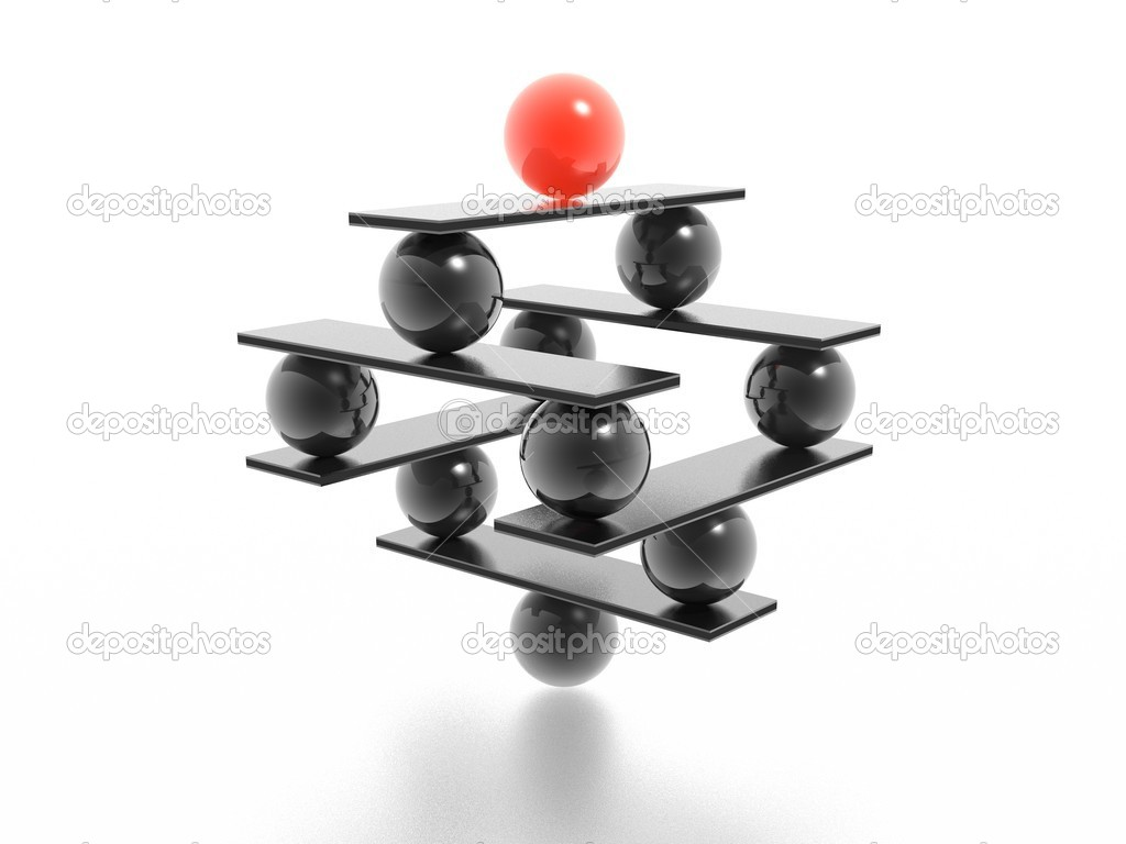 Balance (high resolution 3D image)  Stock Photo #1544132