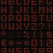 Dot-matrix font — Stock Photo #1585846
