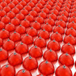 Foto de Stock  : Red christmas balls