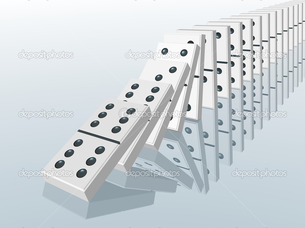 domino effect stock photo copy artsilense  domino effect stock image