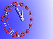 Valentines watch — Stock Photo