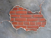 Brickwall frame — Stock Photo