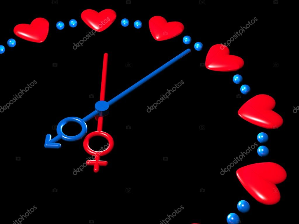 3D valentines watch  Stock Photo #1594726