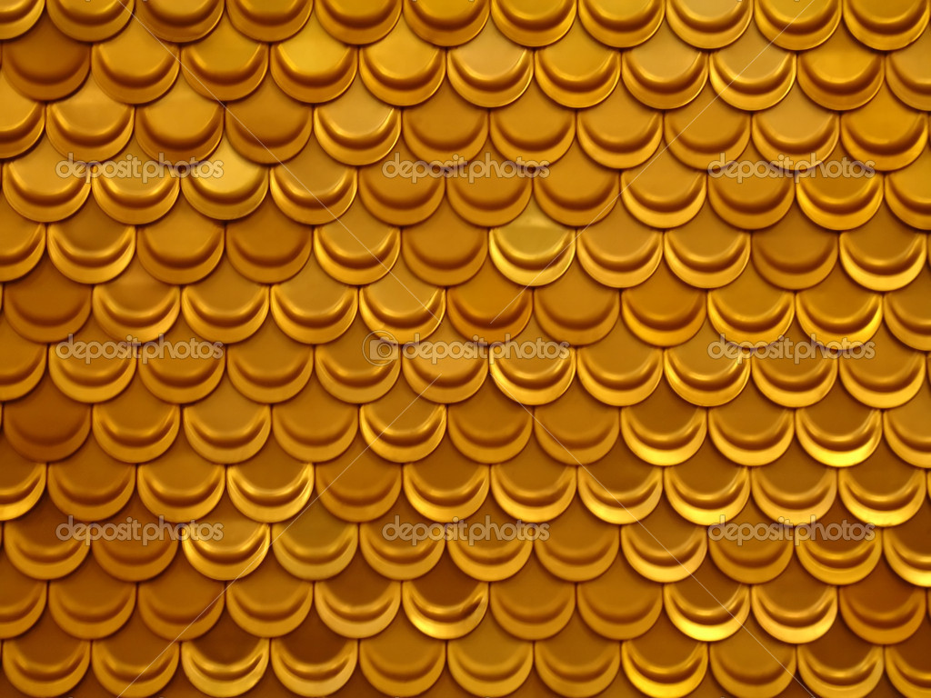 Gold fish background (see my portfolio)  Stock Photo #1594891