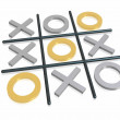 Stock Photo: Noughts and crosses