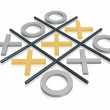 Stockfoto: 3D noughts and crosses