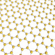 Stock Photo: Hexagon background
