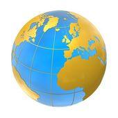 世界各地 — 图库照片