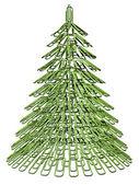 クリスマス ツリーのファスナー — ストック写真