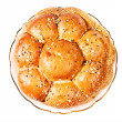 Постер, плакат: Macedonian bread with sesame seeds