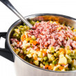 Russian salad ingredients — Stock Photo #1552246
