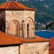 Church of St. Sophia, Ohrid - 图库照片