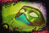 Carnival mask artwork — Stock Photo