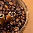 Coffee and cinnamon sticks — Stockfoto #1864239