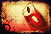 Carnival mask artwork — Stock Photo