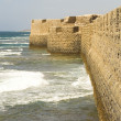 The old walls of Akko — Stock Photo