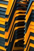пляжные кресла — Стоковое фото