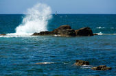 Waves of Mediterranean sea — Stock Photo