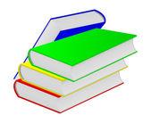 Four books. — Stock Vector