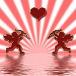 Valentines cupids — Stock Photo #1574412