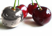 Unique cherry — Stock Photo