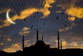 Islamic mosque — Stock Photo
