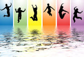Jumping — Stock Photo