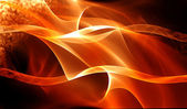 Abstract warm fractal background — Stock Photo