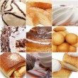 Stock Photo: Sweets collage - high definition photo
