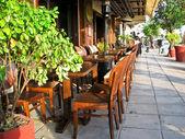 Restaurant outdoors — Stock Photo