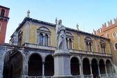 Памятник Данте Алигьери — Стоковое фото