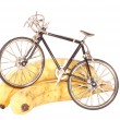 Toy bike and bananas — Stock Photo #2544322