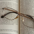 Royalty-Free Stock Photo: Glasses and book
