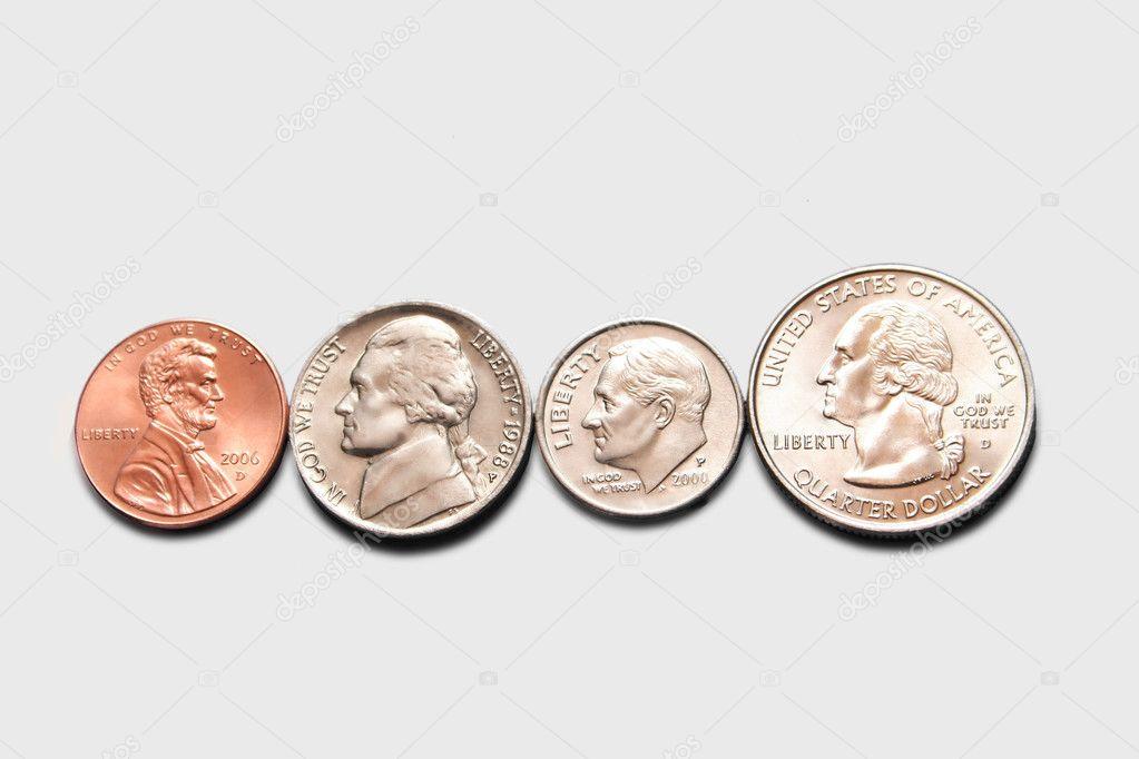 Penny Nickel Dime Quarter http://depositphotos.com/1619412/stock-photo ...