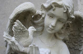 Angel sculpture — Foto Stock