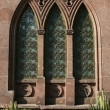 Gothic style window — Stock Photo