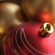 Background made from christmas ornaments — Stock Photo #1726682
