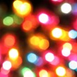 Colorful holiday lights background — Foto Stock